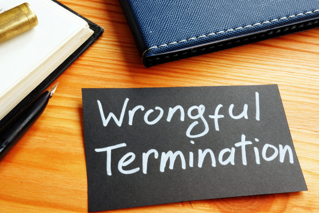 What is wrongful termination and types